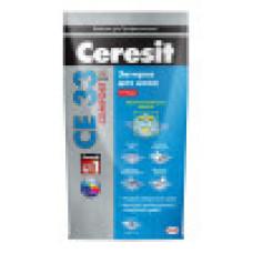 Ceresit CE 33 Comfort затирка для узких швов до 6 мм цвет: белый, серый